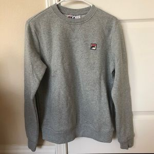 Fila Heather Gray Crewneck Sweatshirt